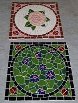 completed mosaic product